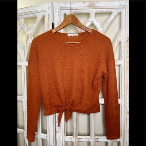 Caution to the wind waffle thermal top small